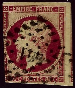 France #19 Used 3 margin SCV$82.50..Worth a close look!!