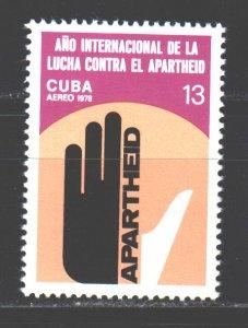 Cuba. 1978. 2346. The struggle against apartheid. MNH.