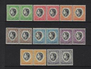 SOUTH WEST AFRICA SCOTT #125-32 1937 GEORGE VI CORONATION- MINT NH/XXXLH