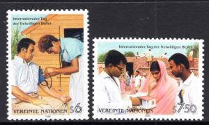UN Vienna 82-83 MNH VF