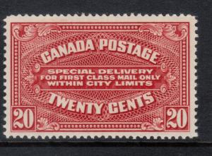Canada #E2 Very Fine Never Hinged **With Certificate**