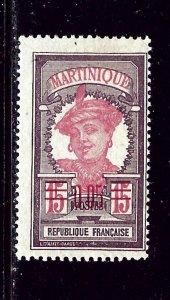 Martinique 110 MH 1922 issue