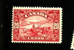 Canada #157 MINT F-VF OG LH Cat $60