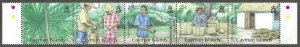 Cayman Islands 1037a-e  MNH