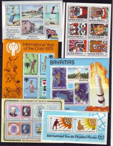 Z724 JLstamps 21 bahamas s/s mnh # noted 1 w/crease damaged corner 4 scans