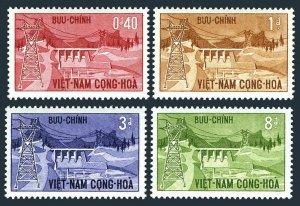 Viet Nam South 227-230,MNH.Michel 304-307. Danhim Hydroelectric Station,1964.