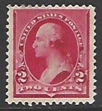 USA #220 Mint No Gum Single Stamp cv $20