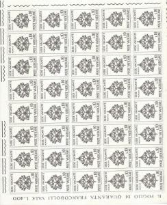 VATICAN 1960s Religion Sheets Appx 360 Stamps MNH (Km449