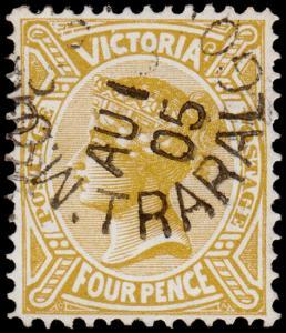 Victoria Scott 223 (1905) Used F-VF M