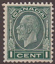 Canada 195 USED 1932 King George V Medallion Issue 1