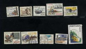 Portugal  10 different used  PD