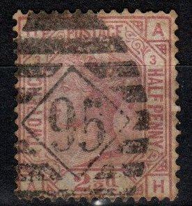 Great Britain #67 Plate 3  F-VF Used  CV $125.00 (SU8612)