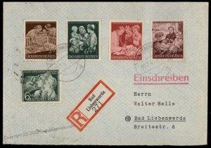 Germany 1944 Mother and Child Charity Mutter und Kind Set Hilfswerk Regis G71706