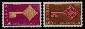 France 1209-10 MNH EUROPA