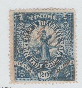 Guatemala revenue Cinderella stamp 9-13-22