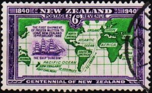 New Zealand. 1940 6d S.G.621  Fine Used