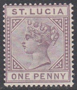 St. Lucia 29 MH CV $7.00