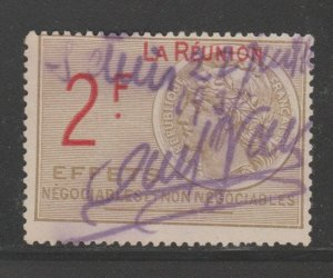 France and Colonies revenue Fiscal stamp 11-9-20 Reunion
