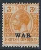 British Honduras SG 118 SC # MR3 MH WAR overprint see scans and details