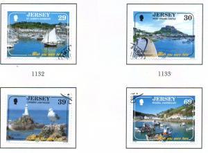 Jersey Sc 1112-5 2004 Europa Holidays stamp set used