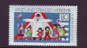 J3930 JLS stamps @20%scv 1983 germany mnh set/1 #1398