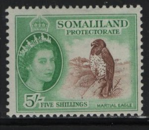 SOMALILAND, 138, HINGED, 1953-58, CORONATION ISSUE