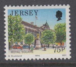 Jersey 504 MNH VF