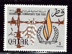 Qatar 128 MNH 1968 issue    (ap2422)