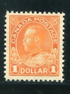 Canada #122    mint VF  very lightly hinged   - Lakeshore Philatelics