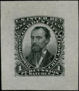 #RO103P1 VF, PLATE PROOF ON INDIA PAPER CV $175.00 BP7813