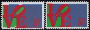 1475 - 8c Color Shift Error / EFO Love Mint NH
