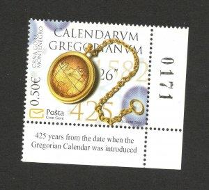 MONTENEGRO-MNH**  STAMP-GREGORIAN CALENDAR-2007.