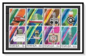Rwanda #1175-1182 Communications Year Set MNH