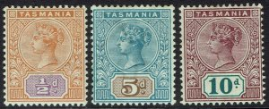 TASMANIA 1892 QV TABLET 1/2D 5D AND 10D