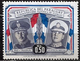 Paraguay; 1955: Sc. # 488: */MH Single Stamp