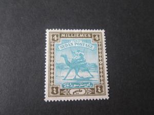 Sudan 1907 Sc 20 MH