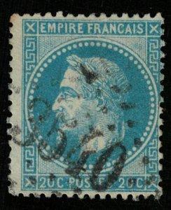 France, 1863-1870, Emperor Napoléon III, MC #28a, CV $ 235 (Т-8012)