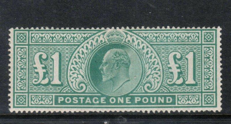 Great Britain #142 Mint Fine - Very Fine Full Original Gum Hinged  *With Cert.*