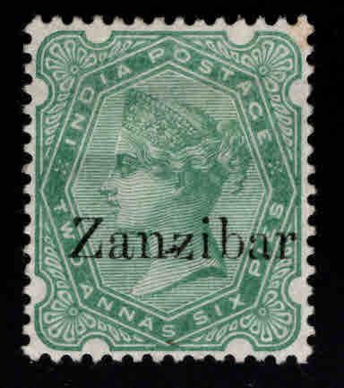 Zanzibar Scott 7 MH* nice color  and centering