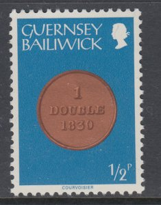 Guernsey 173 Coin on Stamp MNH VF