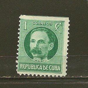 Cuba 264 Jose Marti MNG