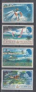Cayman Islands Scott #193-196 MNH