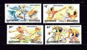 Bulgaria 3546-49 NH 19970 Olynpics Set