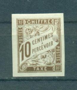 French Colonies sc# J16 mh cat value $1.60