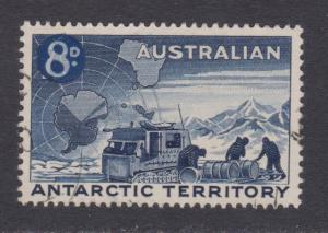 Australia # L2 , Loading Weasel ( Snow Truck ) and Map , VF Used - I Combine S/H