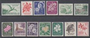 Norfolk Island 29-41 MNH VF
