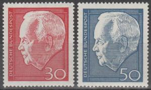 Germany #974-5 MNH F-VF (ST2498)