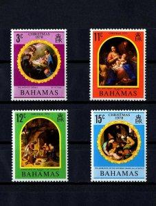BAHAMAS - 1970 - CHRISTMAS - HOLY FAMILY - NATIVITY - MINT - MNH SETT!