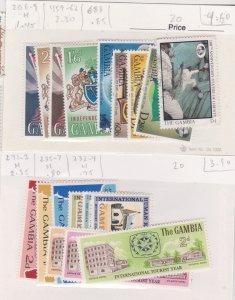 Gambia MH sets CV $8