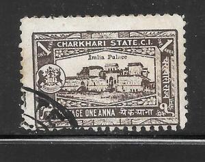 India  Charkhari #29 Used Single
